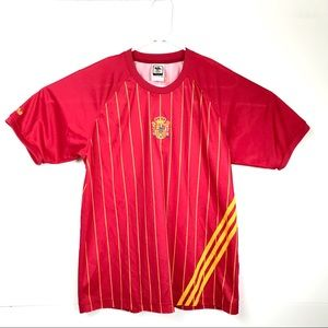 Adidas World Cup Soccer Jersey 2006 Spain Red Med.
